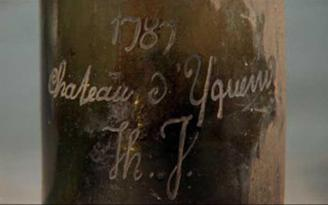 Chateau d`Yquem de la cosecha 1787