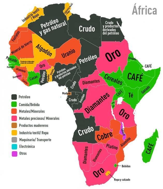 MOTIVOS DE LAS GUERRAS EN ÁFRICA